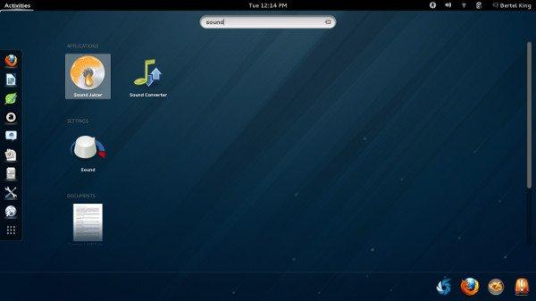 SearchingGNOME-Shell