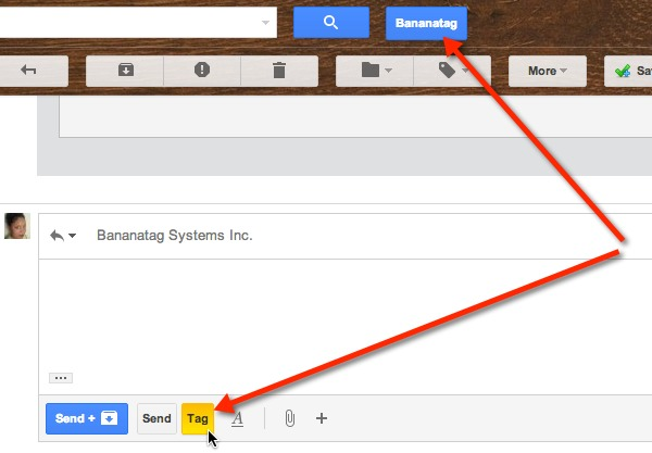 Bananatag adds some shiny new buttons to your Gmail account.