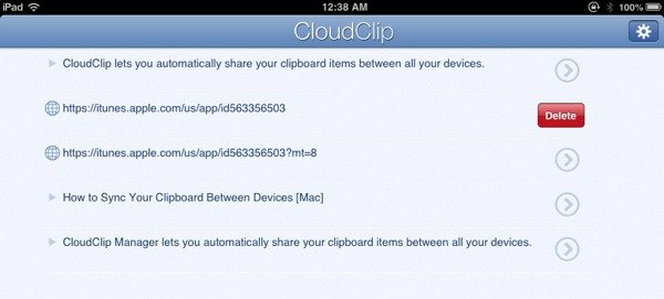 CloudClip is available for iPhone, iPod Touch, and iPad.