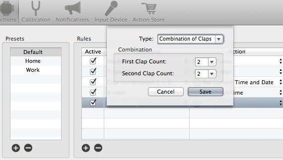 Create custom commands in iClapper.