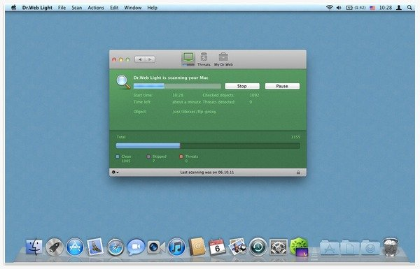 Dr.Web Light Antivirus for Mac
