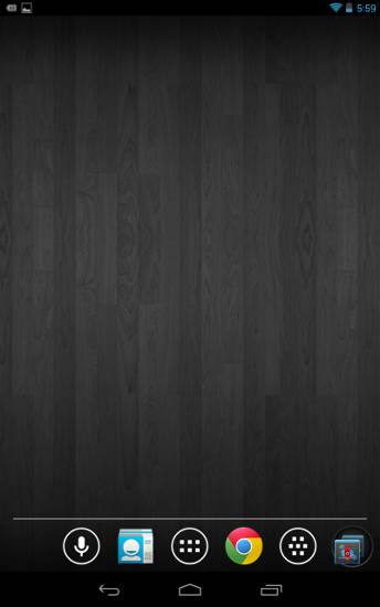 minimalist-android-black-wood