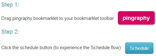 Drag the Pingraphy bookmarklet to your bookmarks bar.