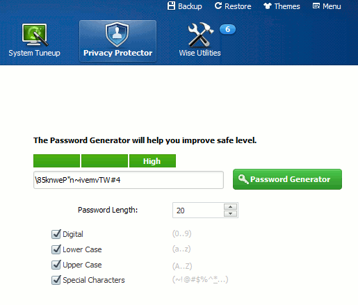 wisecare-password-generator