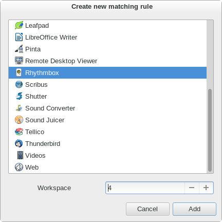 AutoWorkspace-select-app