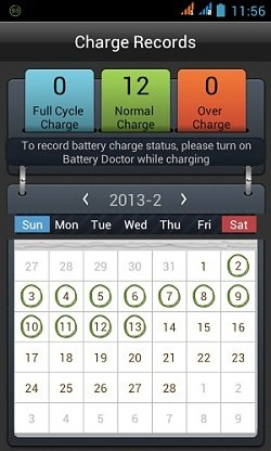 Battery Doctor Charge Cycle