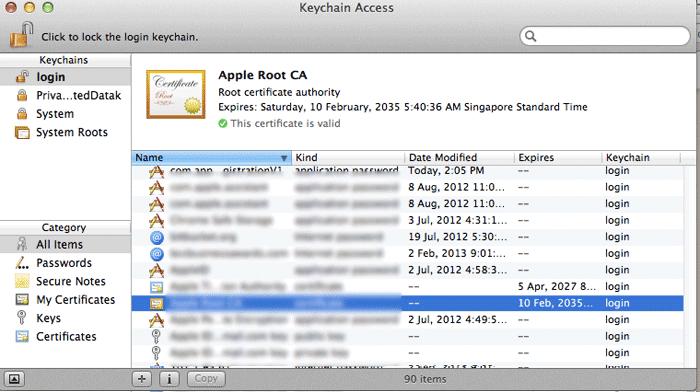 KeychainAccess_main_interface