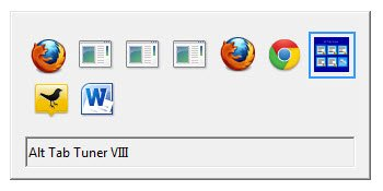 The classic Alt+Tab Switcher for Windows.