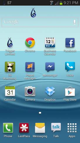 android-gesture-trigger-icon