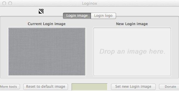 The Loginox application window.
