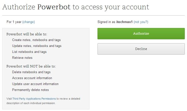 powerbot-authorize-evernote