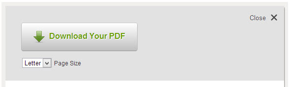 Download your PDF file in one of two sizes.