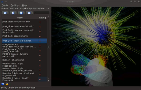 Power Your Music Visualization with ProjectM