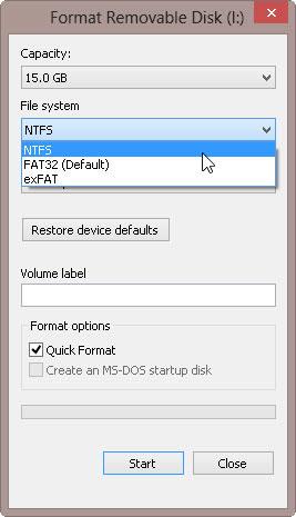 usbdrive-usb-format-ntfs