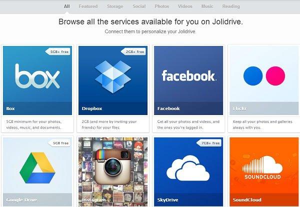 Jolidrive Services