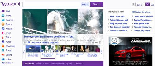 Yahoo-site