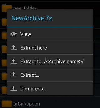 ZArchiver-extract
