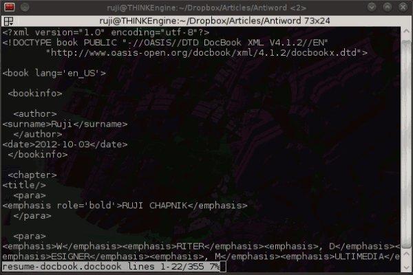 antiword-docbook-xml