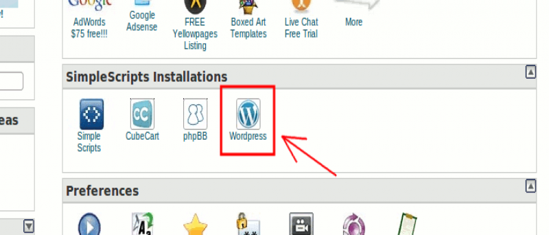 How to Install WordPress Using SimpleScripts