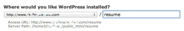 cpanel-wordpress-installed-resume