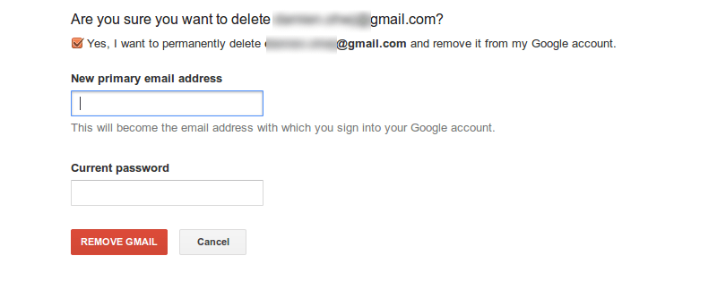 How To Delete A Gmail Address