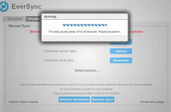 eversync-chrome-syncing