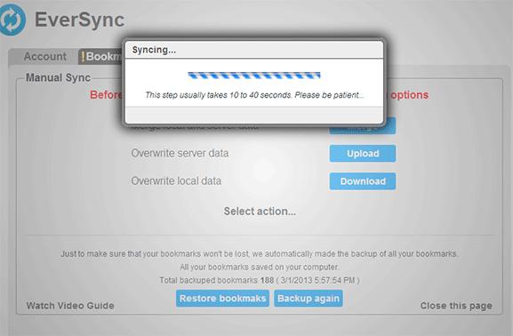 eversync-chrome-syncing