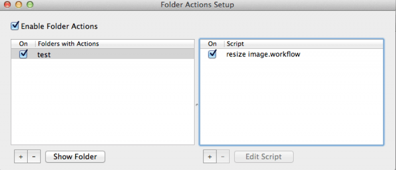 How to Setup Folder Actions to Automatically Resize Images in Your Folder [Mac]