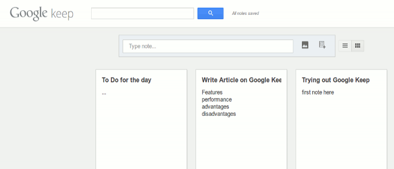 Google Keep: The New Note App Google Developed to Compete With Evernote
