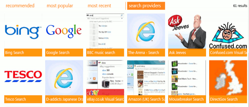 How to Change Internet Explorer 10's Default Search Engine
