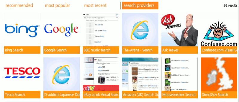 How to Change Internet Explorer 10's Default Search Engine