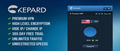Giveaway of the Week: 90 Days Of Premium Kepard VPN Account