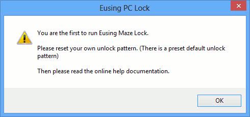 pattern-eusing-first-run