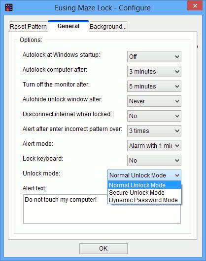 pattern-general-tab