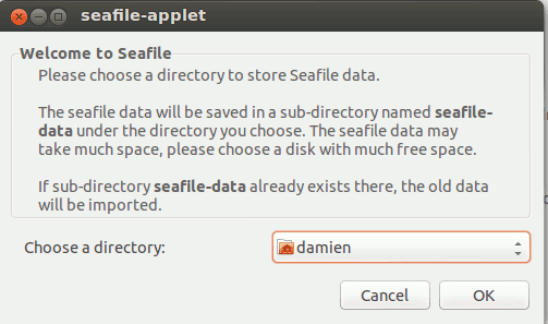 seafile-select-storage-directory
