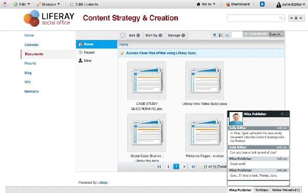 sharepoint alternatives - liferay