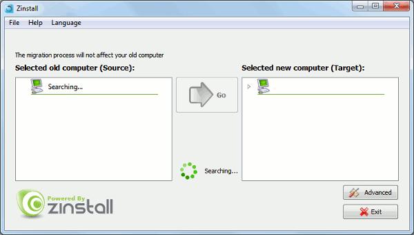 zinstall-scanning