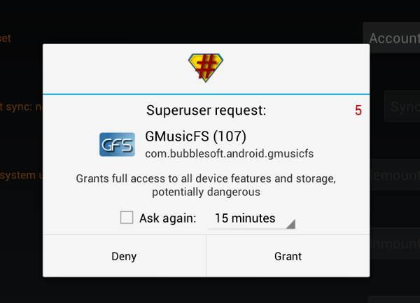 GMusicFS-SU