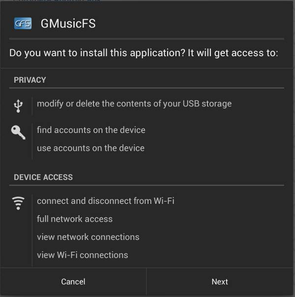 GMusicFS-installed