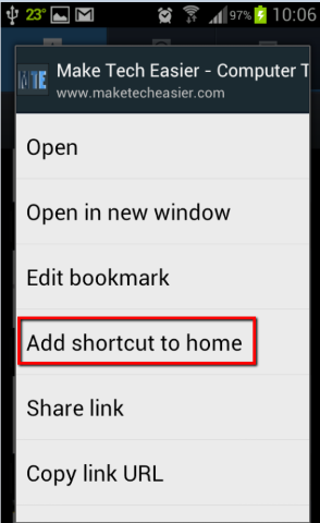 Add-shortcut-to-home