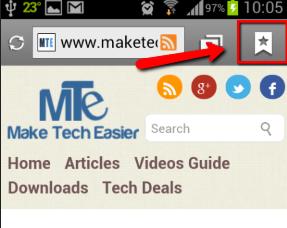 Open-Bookmark-list