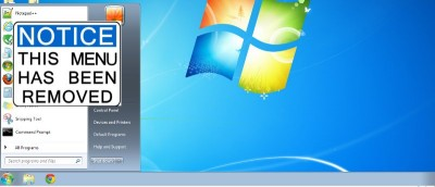 Start Button in Windows 8 to Return, But Without the Start Menu