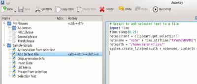 Using Autokey Scripts to Automate Your Linux Desktop