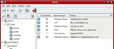 Easily Manage Remote Filesystems with Gigolo In Linux