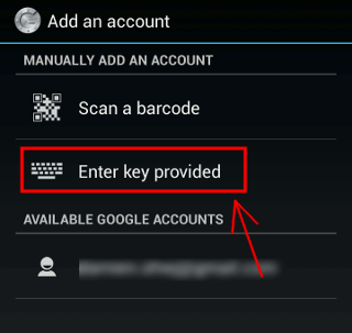 google-authenticator-enter-key