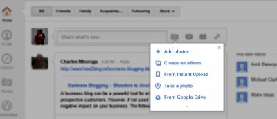 How to Share Photos from Google Drive to Google+