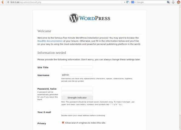 juju-wordpress-install