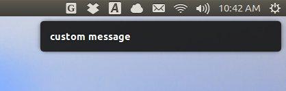 notifyosd-test-custom-message