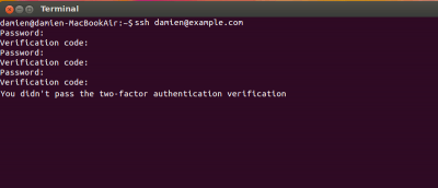 How to Enable Two-Factor Authentication for SSH Connection
