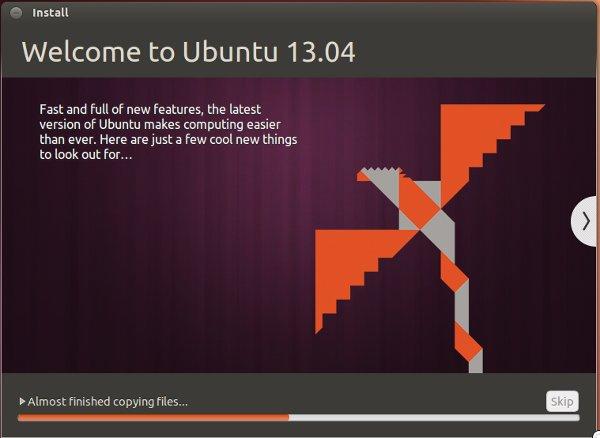 ubuntu-raring-installation